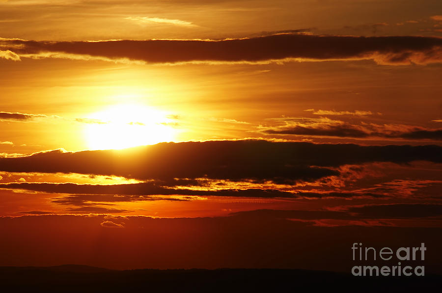 Sunset Photograph - Sunset by Michal Boubin