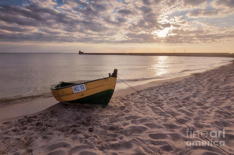 Sunset On The Beach Photograph