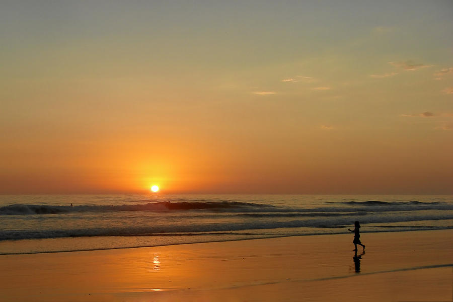 Pacific Photograph - Sunset Over La Jolla Shores by Christine Till