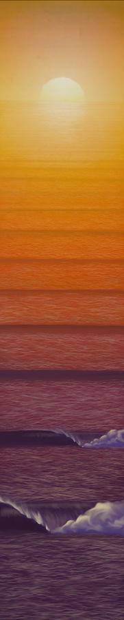Sunset Mixed Media - Sunset by Tim Foley