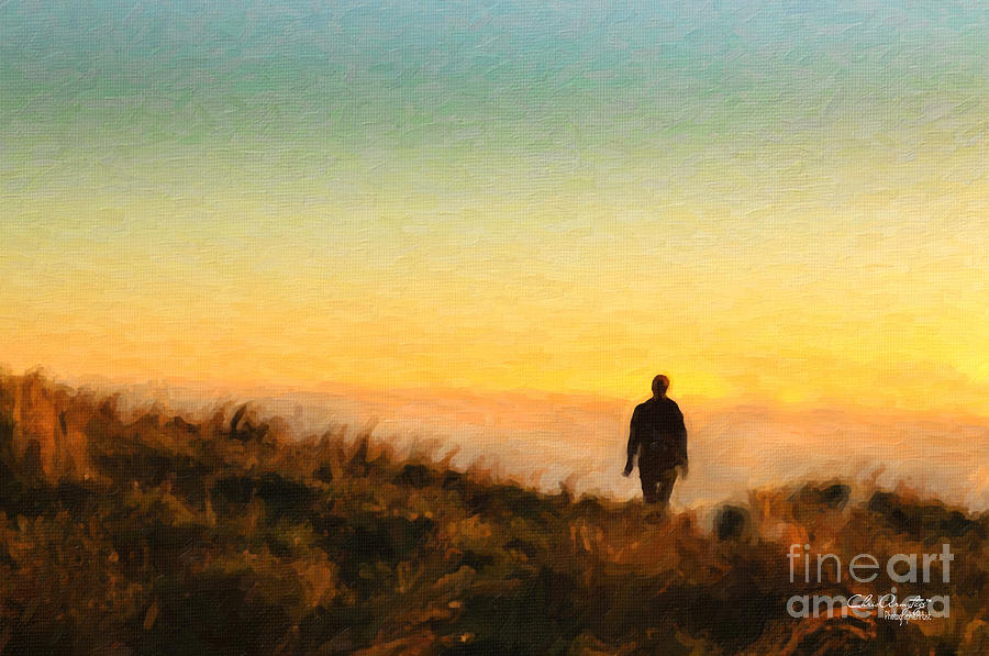 Sunset Walk Painting