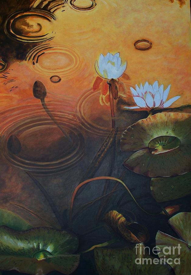 Sunshower Painting by Joan Cookson # Sunshower Art_040753