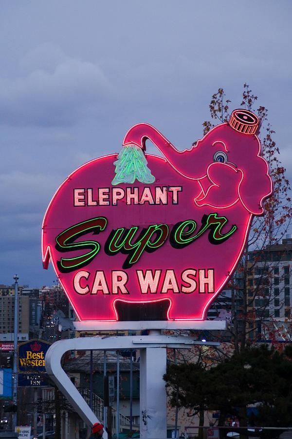 Super Car Wash Photograph By Rachel Barner