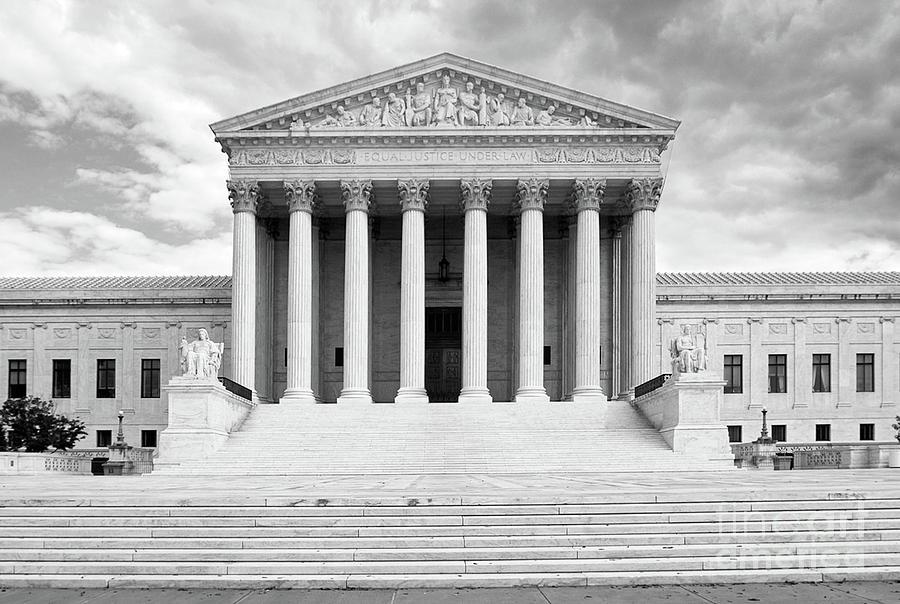 Supreme Court Washington Dc Photograph