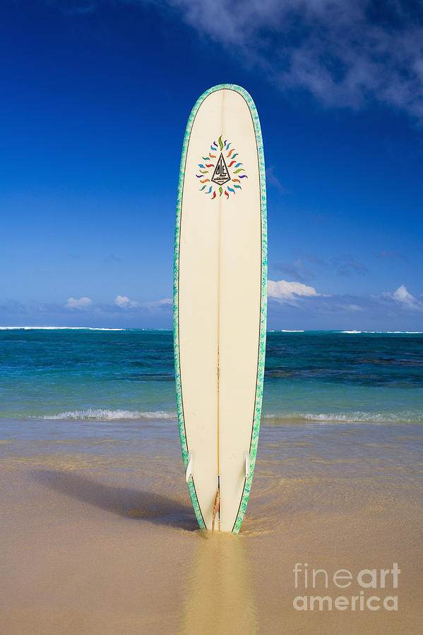 Surfboard Photograph