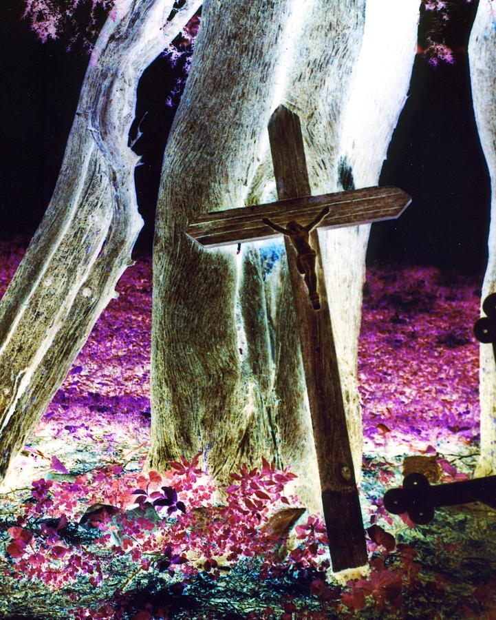 Surreal Crucifixion Photograph