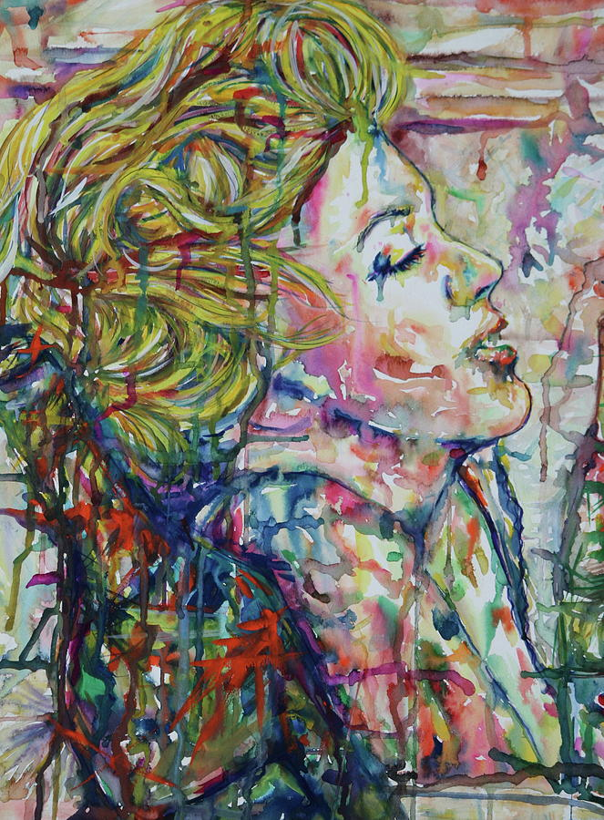 Mixed Media - Surround Marylin by Joseph Lawrence Vasile