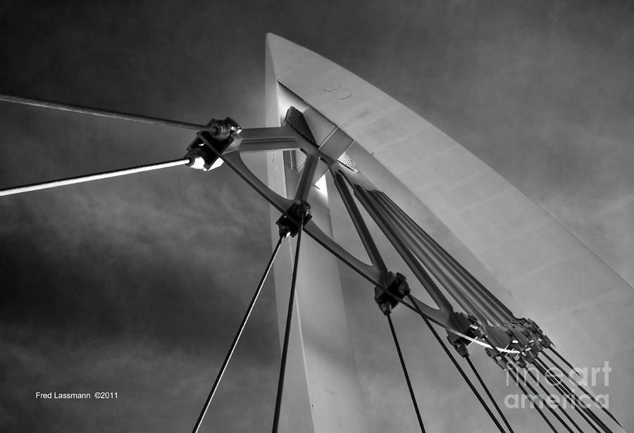 Kansas Photograph - Suspension by Fred Lassmann