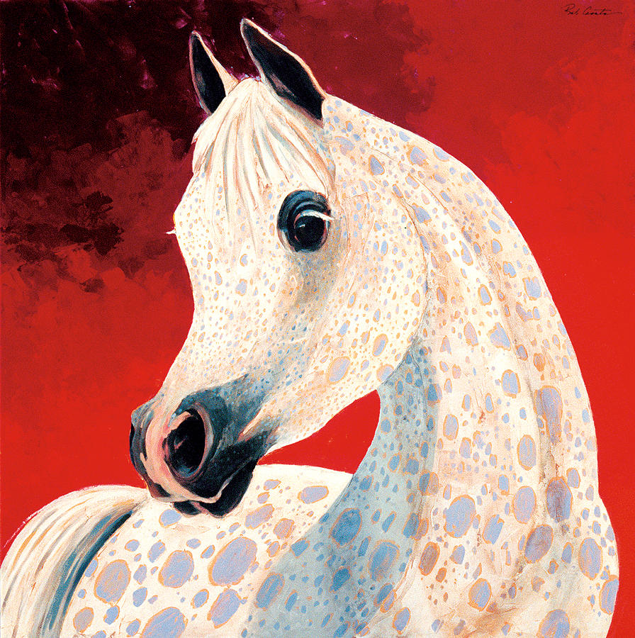 Horse Painting Painting - Sweetheart by Bob Coonts