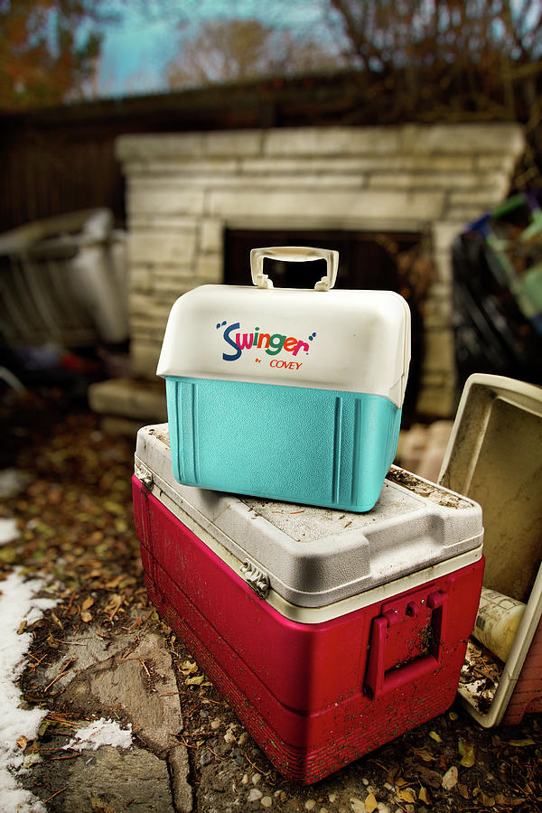 Painted Photograph - Swinger Cooler by Yo Pedro