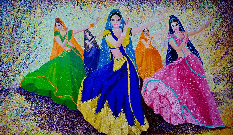 Famous Art Painting Dance Picture
