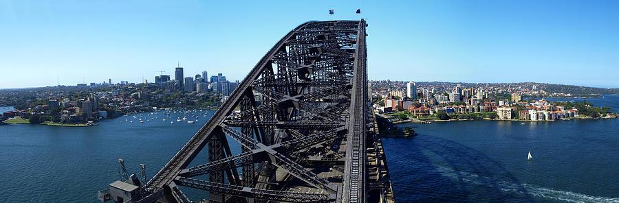 Horizontal Photograph - Sydney Harbour Bridge by Melanie Viola
