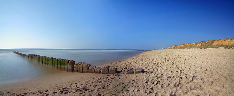 Sylt Pyrography - Sylt Beach by Marc Huebner