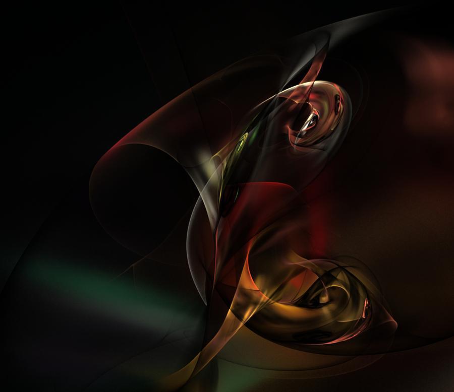 Fine Art Digital Art Digital Art - Symphonic Overtones by David Lane