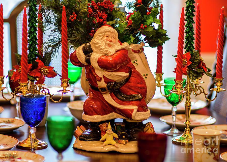 Table For Santa Photograph