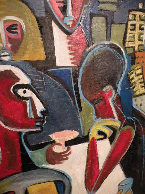 Painting - Table Talk by Robert Daniels