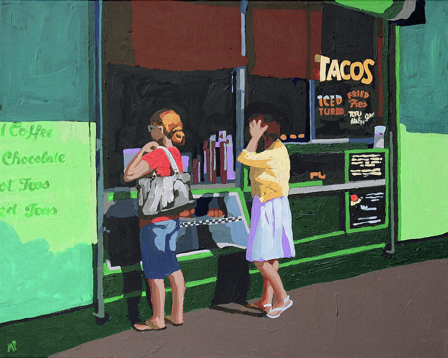 Taco Night Painting
