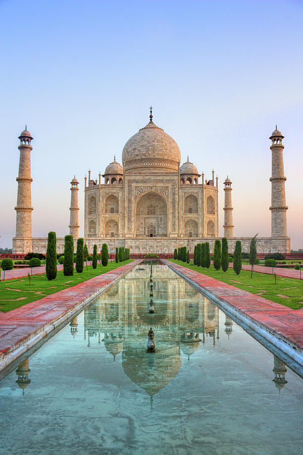 Vertical Photograph - Taj Mahal, Agra by Pushp Deep Pandey / 2kPhotography