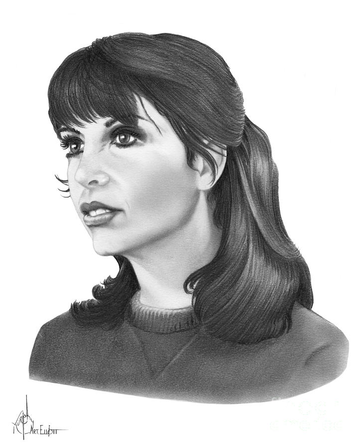 Talia Shire - Adrian is a drawing by Murphy Elliott which was uploaded ...