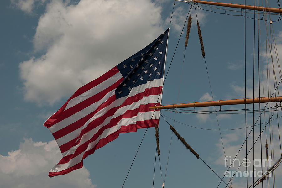 Tall Ship Flag IIi Photograph
