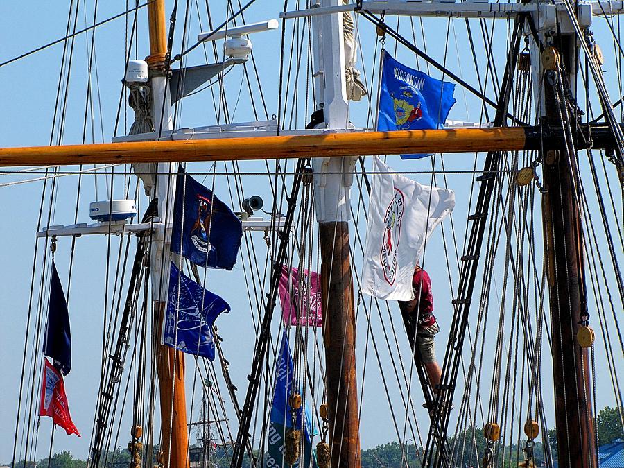 Hovind Photograph - Tall Ship Series 15 by Scott Hovind