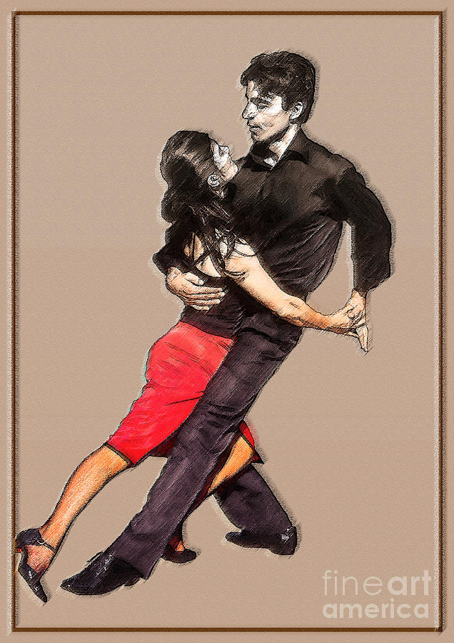 Dance Photograph - Tango by Linda  Parker