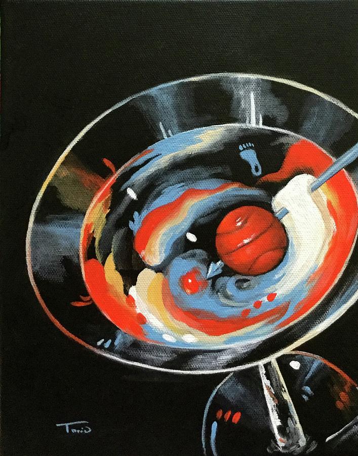 Tar Heel Martini IIi Painting