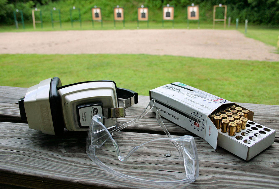 Target Practice Photograph