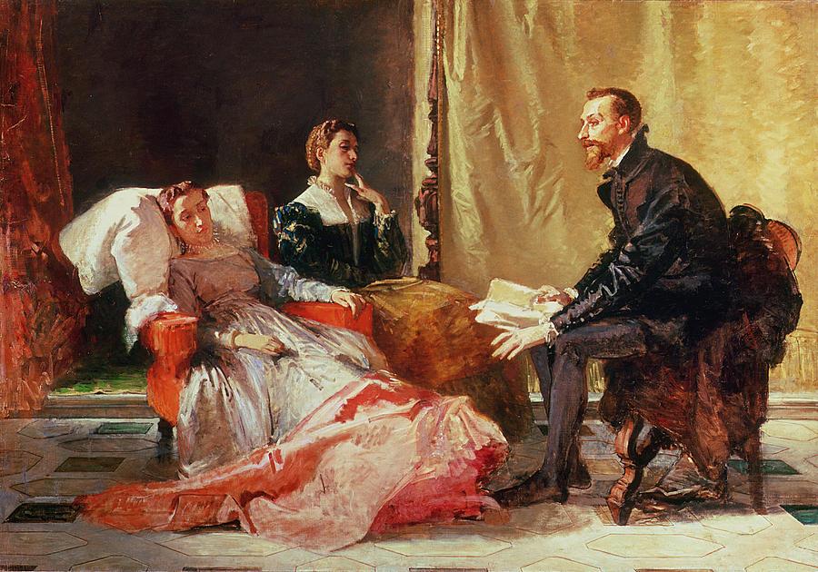 Tasso And Elenora Painting