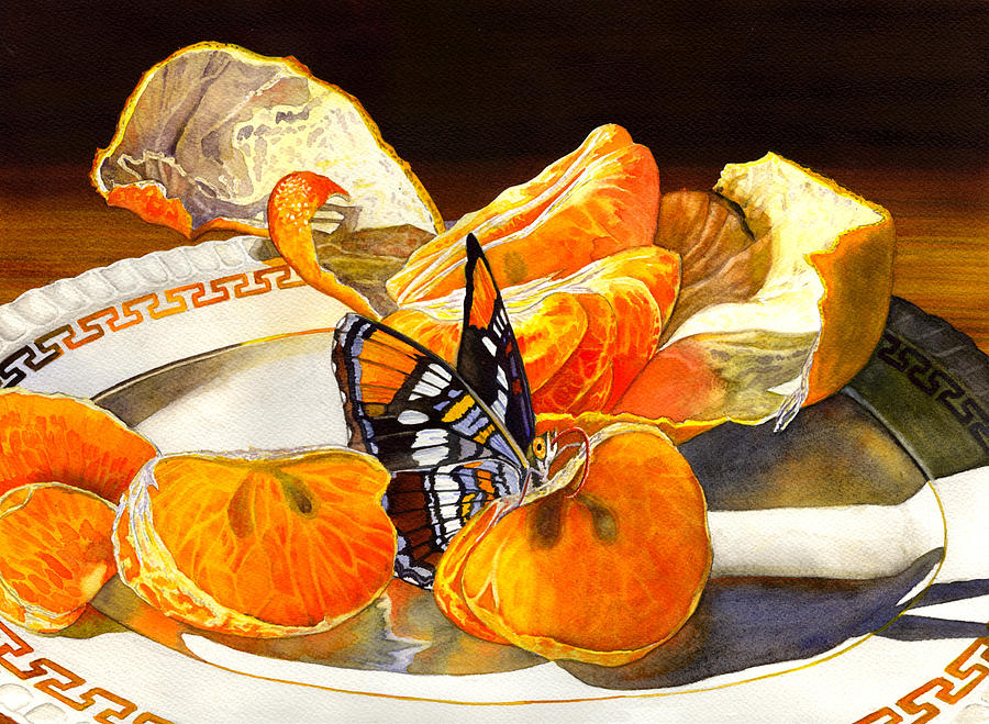 Butterfly Painting - Tasty by Catherine G McElroy