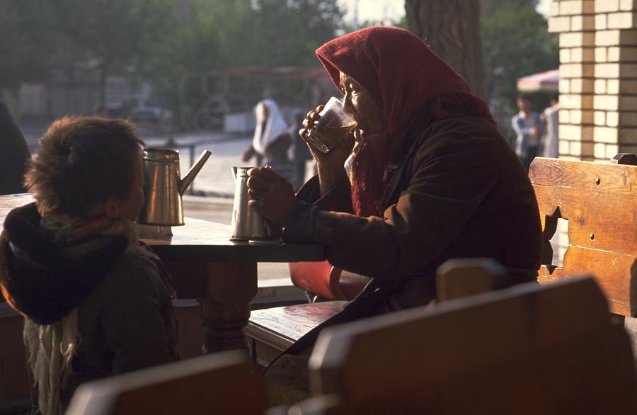 Tea In Tashkent Photograph