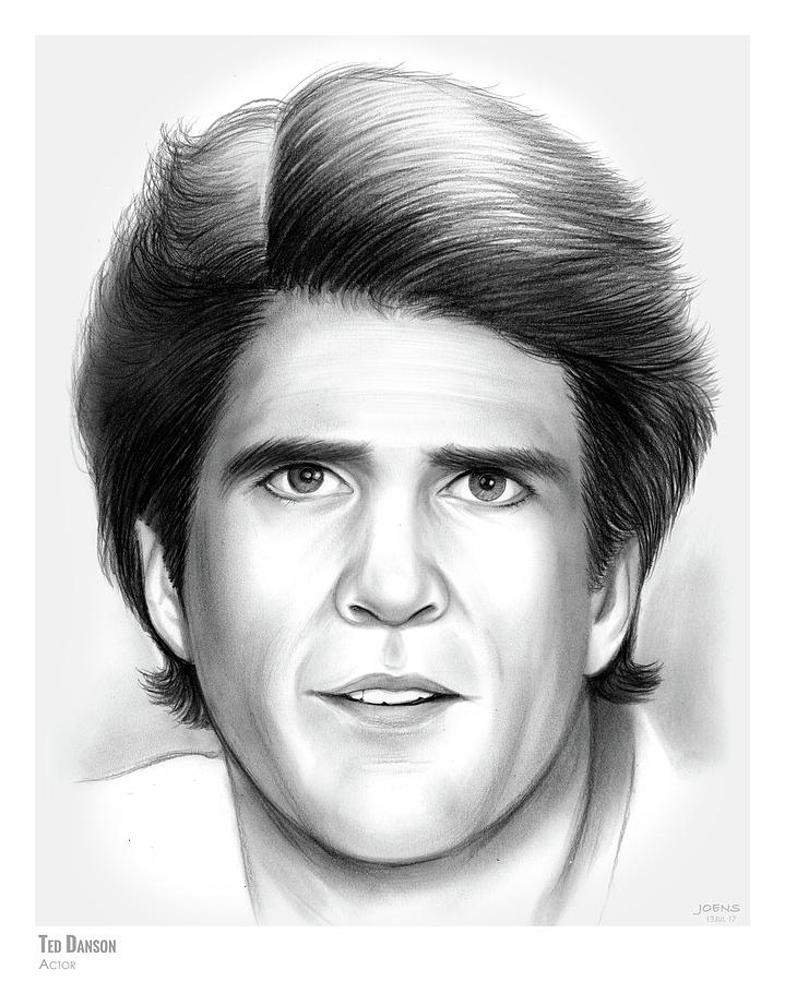 Ted Danson Drawing