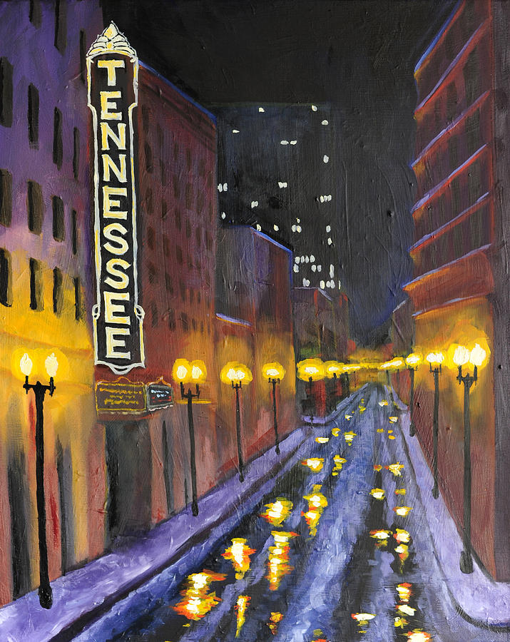 Tennessee Painting - Tennessee  by Mackenzie  Matthews