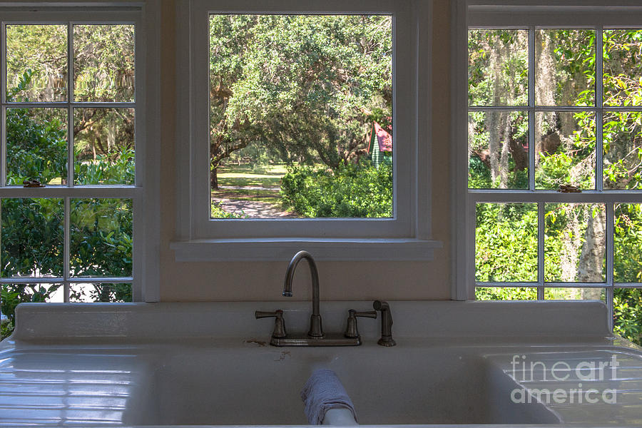 Window Over The Sink Photograph