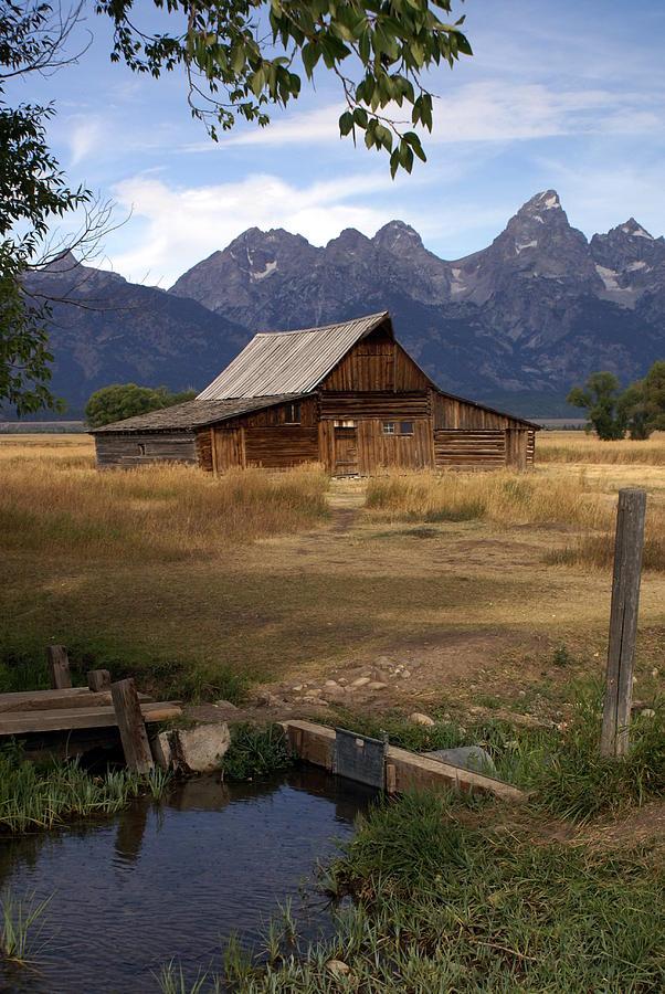 Teton Barn 2 Photograph