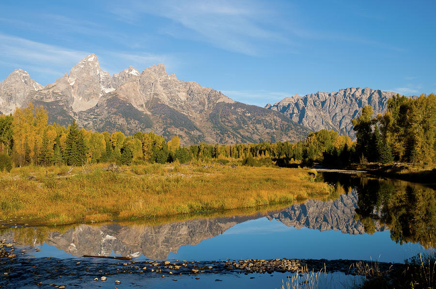 Grand Teton Photograph - Teton Reflections by Steve Stuller