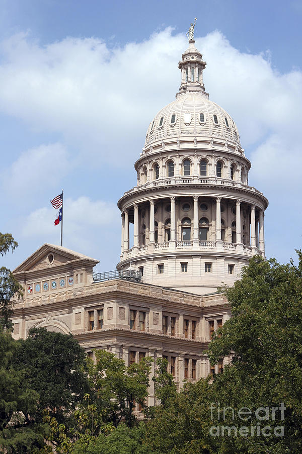 Capital Photograph - Texas Capitol by Jeannie Burleson