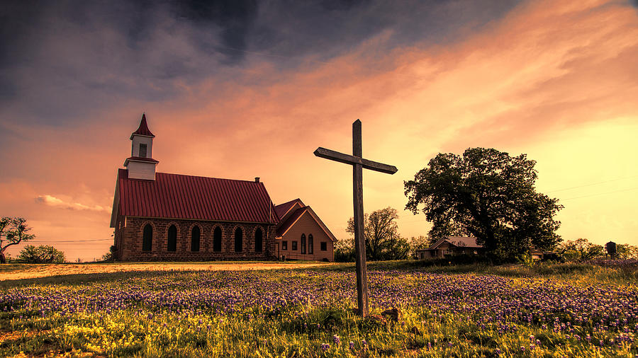Texas Hill Country Sunset Photograph By Stephen Stookey