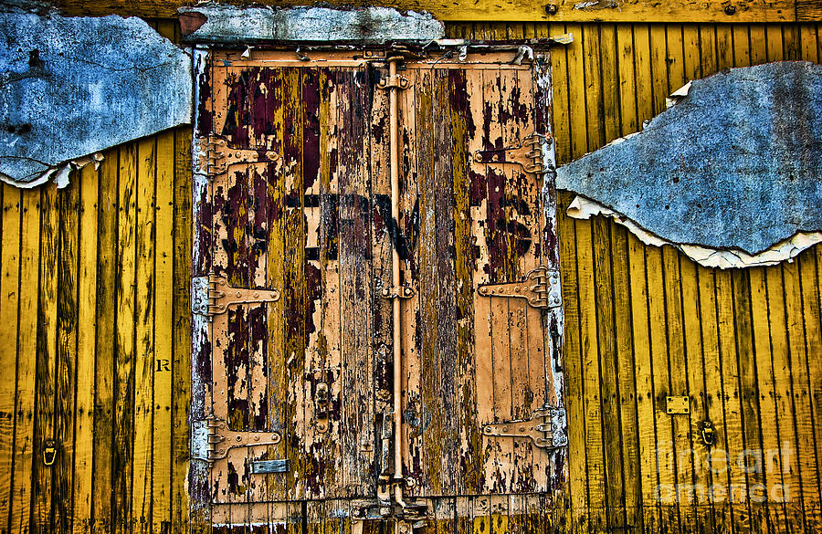 Abstract Art Photograph - Textured Wall by Ray Laskowitz - Printscapes