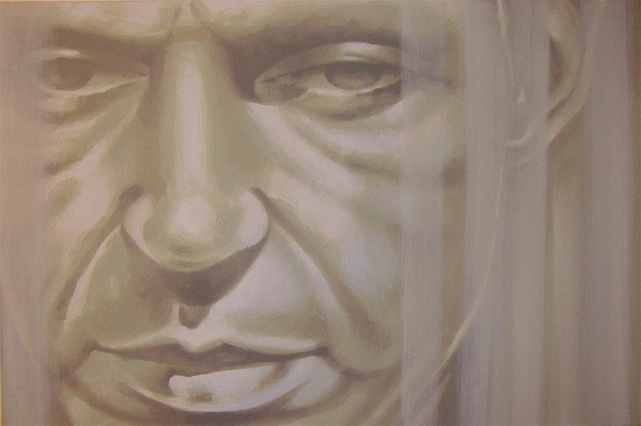 Frank Sinatra Painting - Thats Life by Steven Coughlin