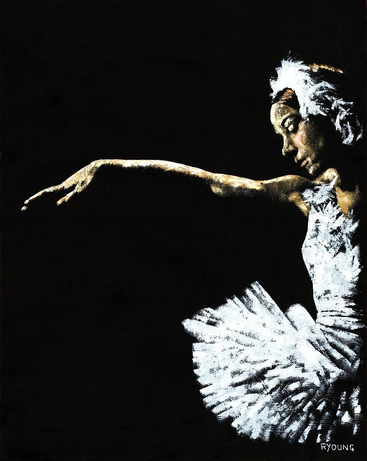 Ballet Painting - The Art Of Grace by Richard Young
