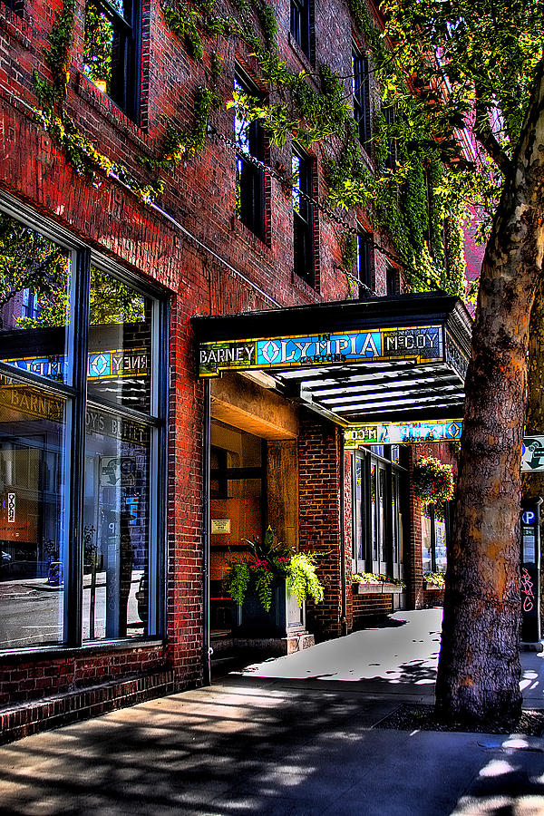 Restaurant Photograph - The Barney Mccoy Cafe by David Patterson
