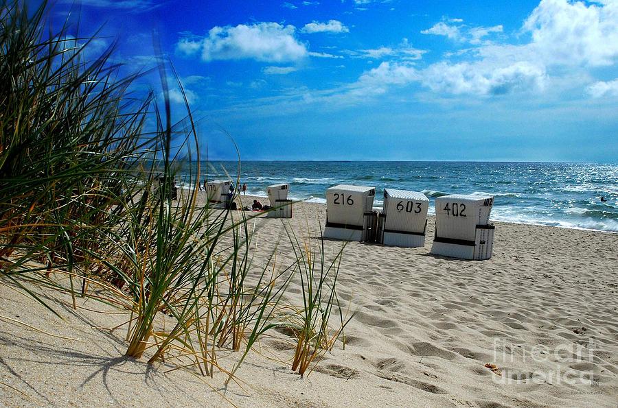 Beach Photograph - The Beach by Hannes Cmarits
