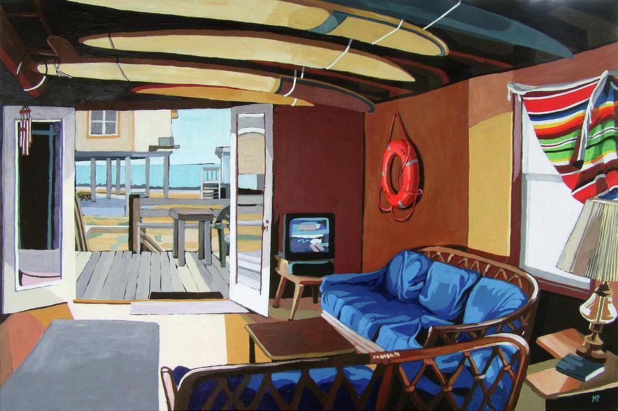 The Beach House Painting