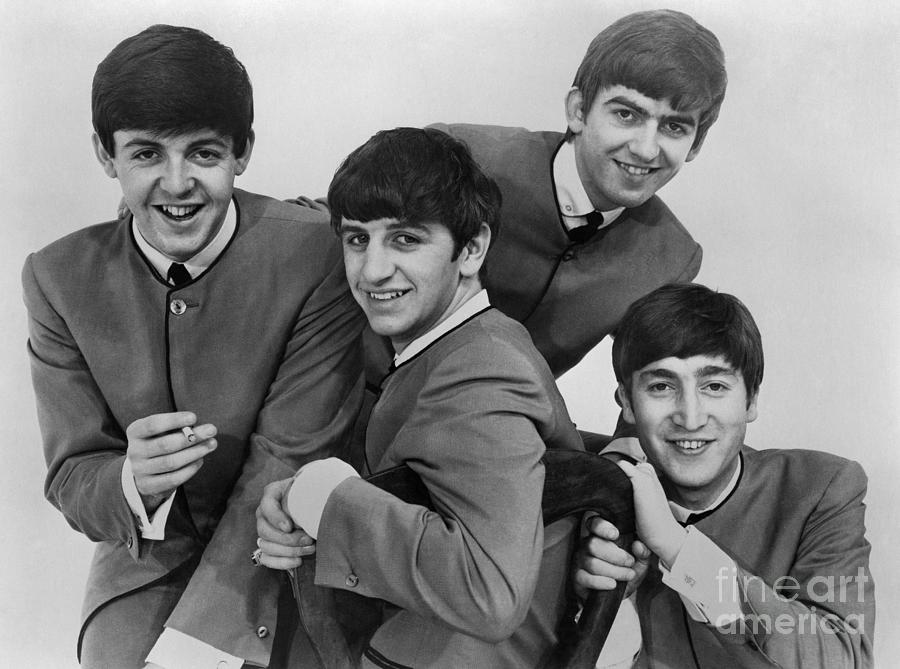 1963 Photograph - The Beatles, 1963 by Granger