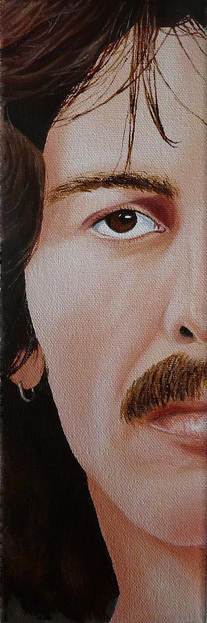 The Beatles George Harrison Painting