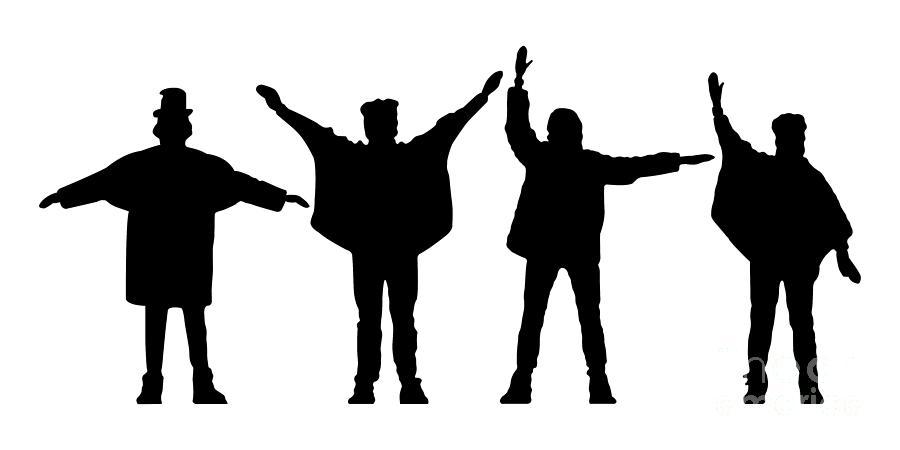 Artwork Digital Art - The Beatles No.07 by Caio Caldas