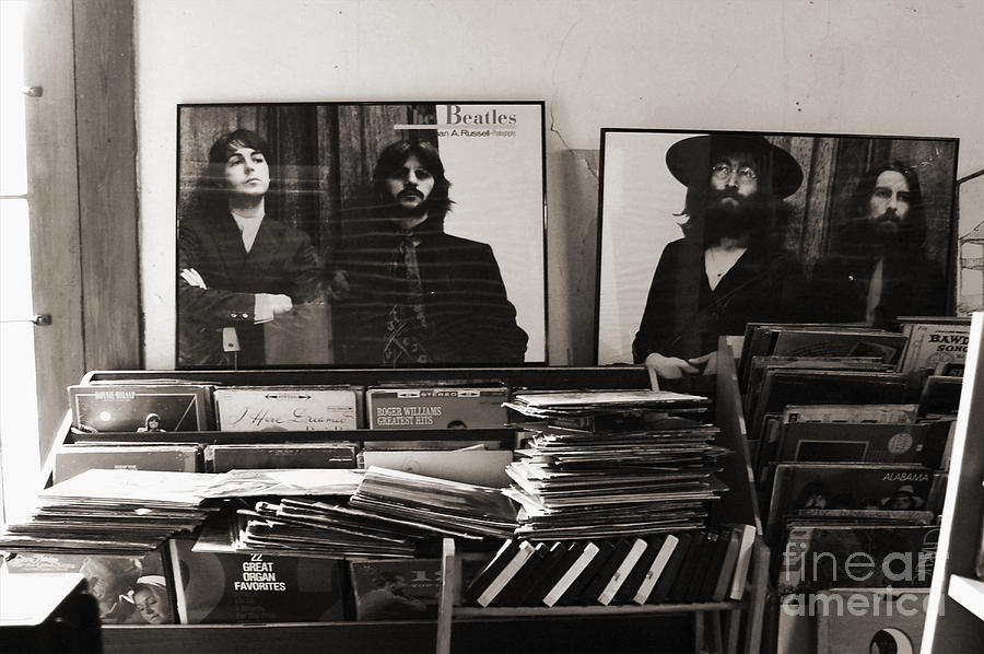 The Beatles Photograph - The Beatles Yesterday by Anna Payne
