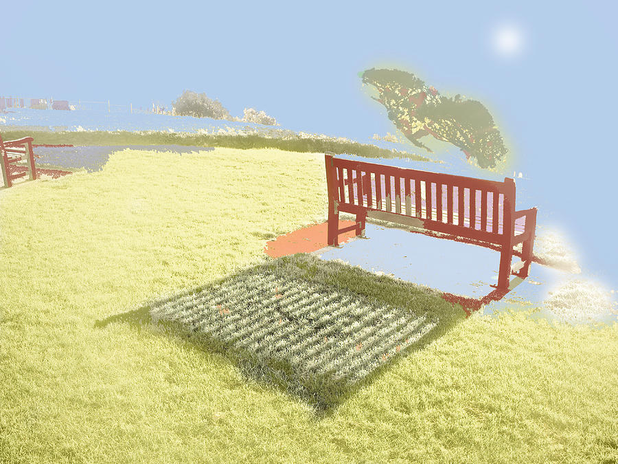 Photography Photograph - The Bench At The Edge Of The World by Dan McCarthy