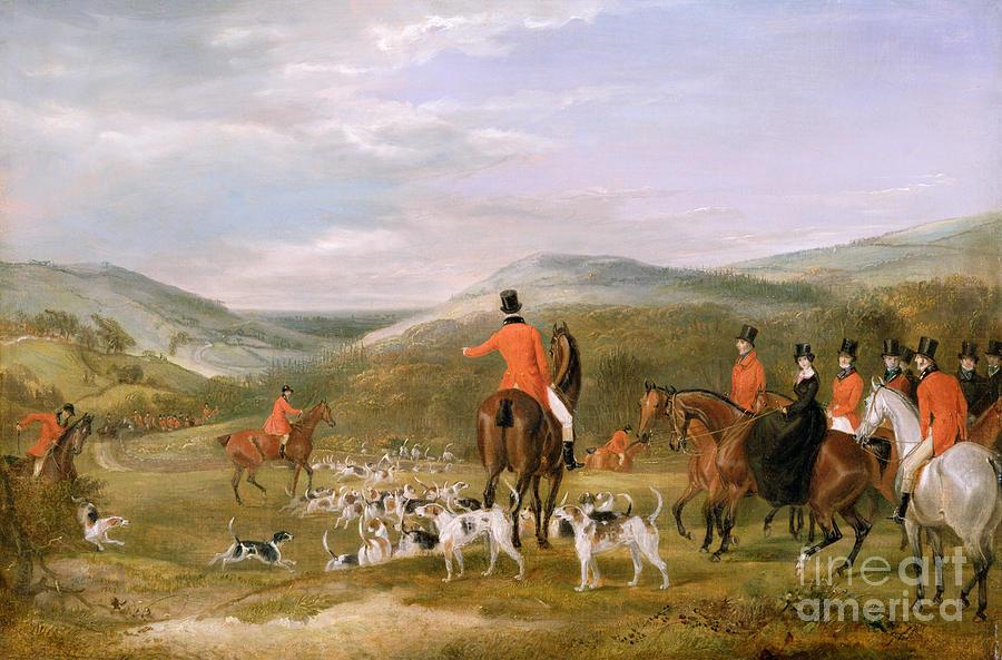The Berkeley Hunt Painting